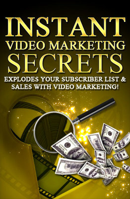 Product picture Instant Video Marketing Secrets-